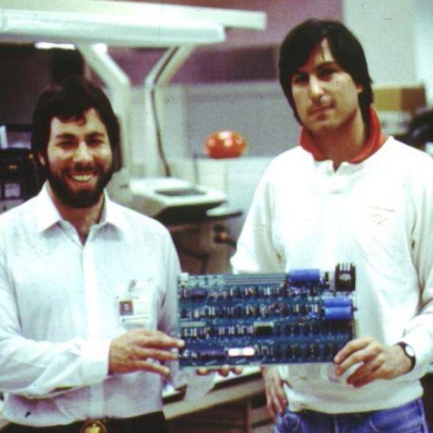 Steve Wozniak y Steve Jobs (Foto: Apple)