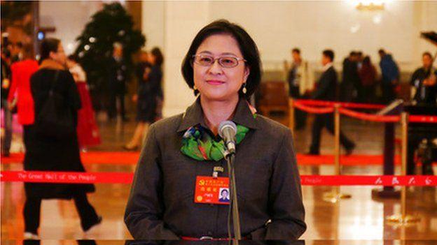 十九大台灣代表盧麗安