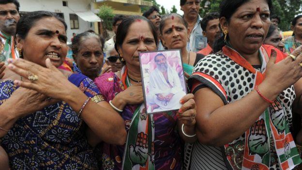 مردم خشمگین در هند