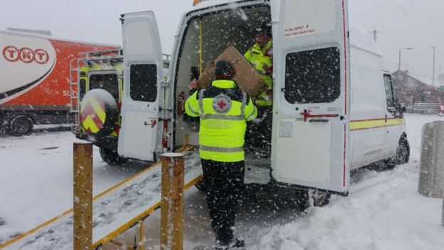 The Red Cross has also mobilized to help (Photo: Red Cross)