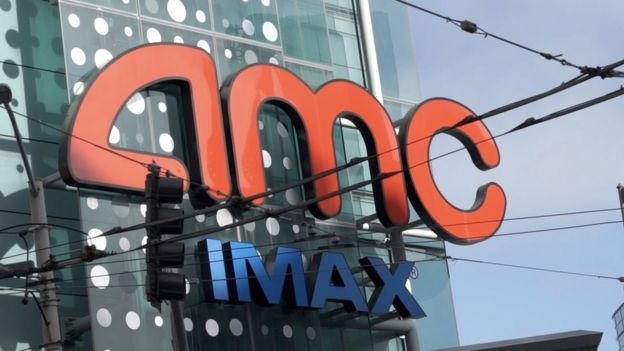 Movie theatre chain AMC is unhappy about the