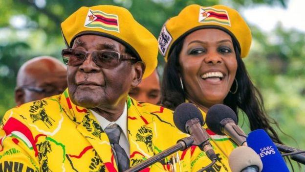 Grace Mugabe anaonekana kukaribia kukirithi kiti cha mumewe