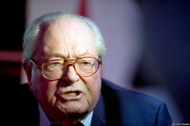 Jean-Marie Le Pen Ulusal Cephe partisini 1972 yılında kurmuştu.