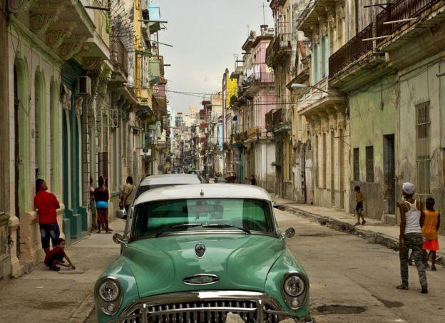 Calle en La Habana
