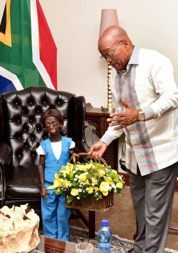 Elle était une source d'inspiration pour beaucoup de Sud-africains