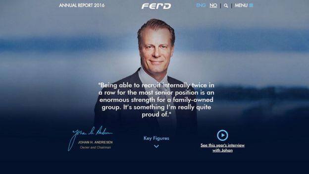 Ferd website