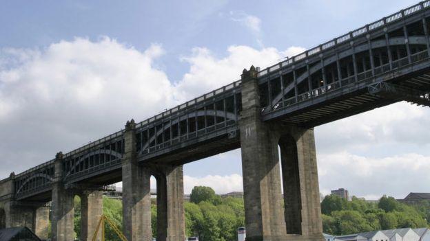 High Level Bridge, em Newcastle