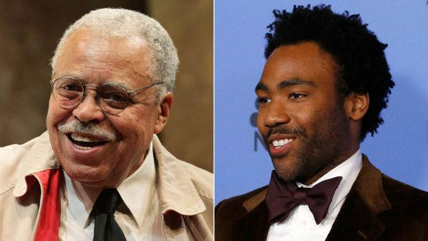 James Earl Jones and Donald Glover