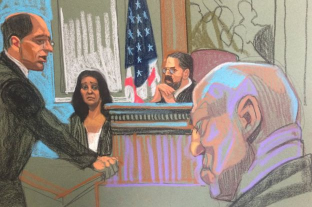 Bill Cosby durante el primer juicio