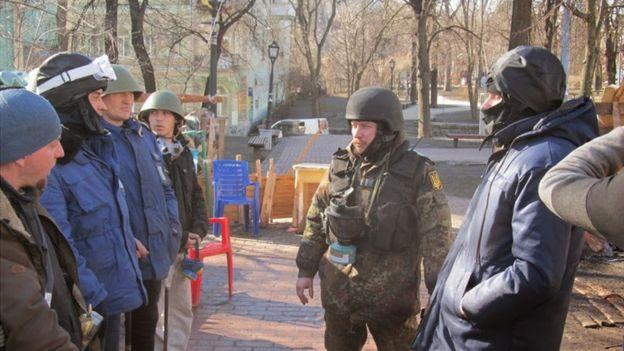 На Майдані Ігор Чернецький командував Михайлівською сотнею