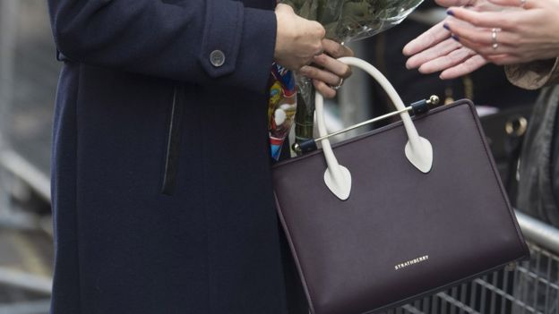 Meghan Markle's Strathberry bag