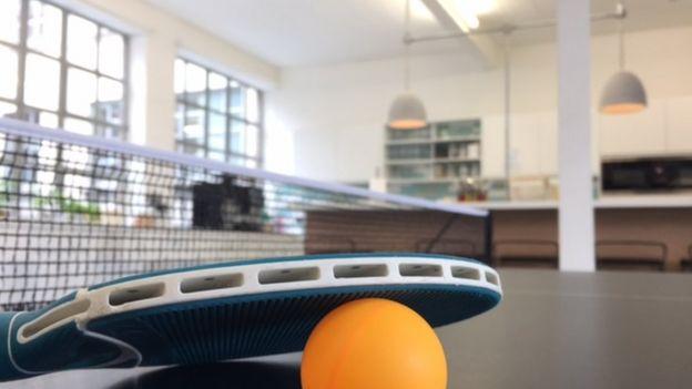 Paletas de ping-pong