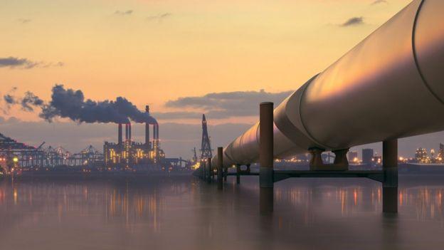Usina de petróleo