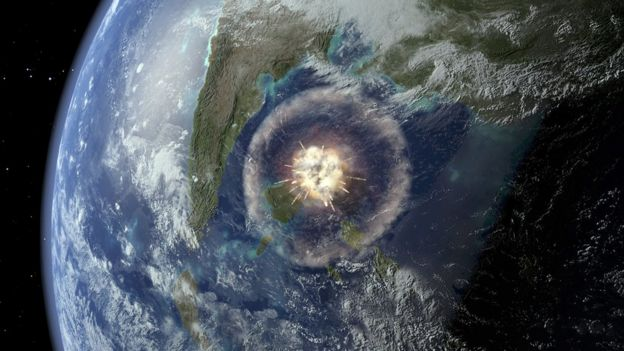 """El asteroide golpeó uno de los puntos """"vitales"""" del planeta"""