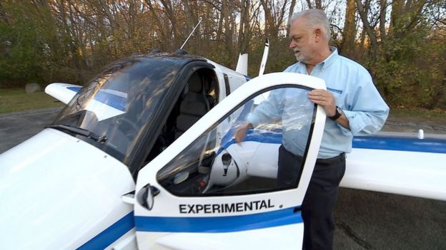 Một mẫu thiết kế bay thử nghiệm