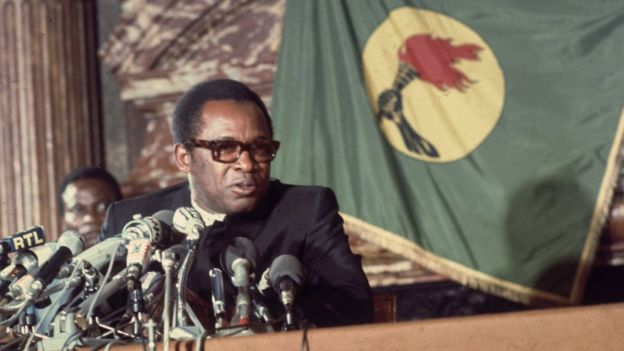 6th May 1978: President Mobutu Sese Seko of the Democratic Republic of the Congo, formerly Zaire, during an official visit to Paris.
