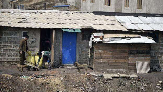 Pobreza en Pyongyang