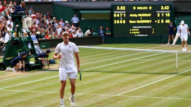 Final entre Sam Querrey y Andy Murray