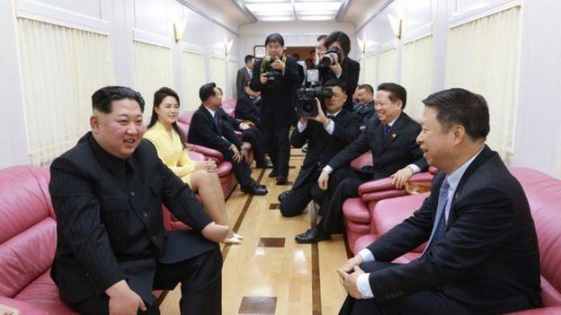 قطار رهبر فعلی کره شمالی
