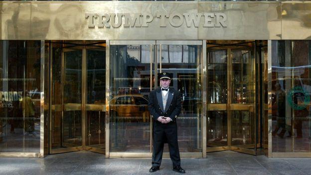 Muchos pensaron que la candidatura de Trump era una estrategia para impulsar su negocio.