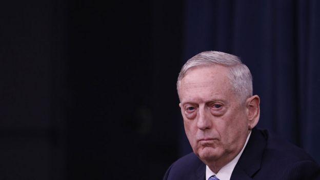 وزیر دفاع آمریکا