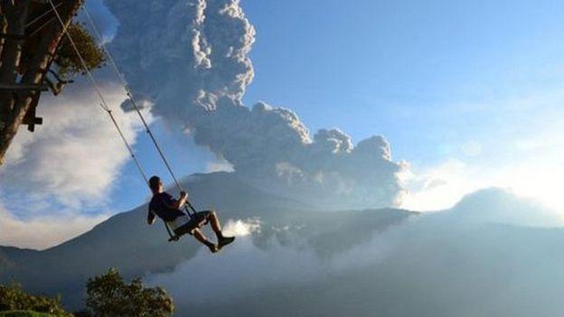 Foto 'cuando se acababa el mundo'. Foto: Sean Hacker Teper/National Geographic)