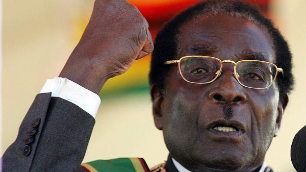 Robert Mugabe en una foto de 2008