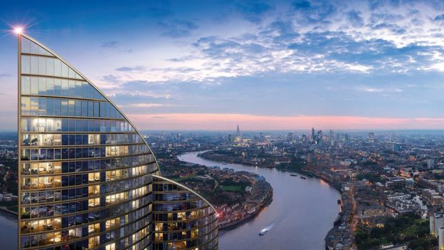 Spire Kulesi, Londra