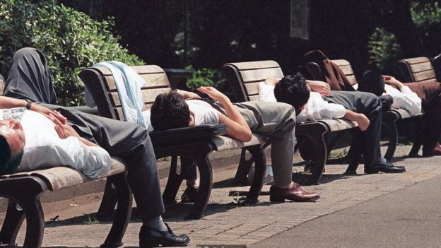 Nhật là nước được xem là có người lao động làm dài giờ.