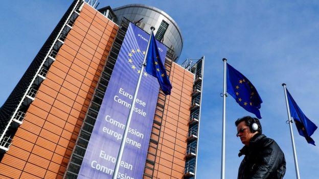 Prédio da Comissão Europeia em Bruxelas