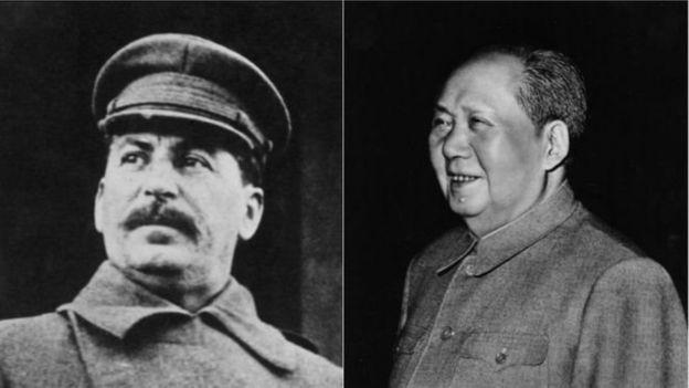 斯大林,毛澤東