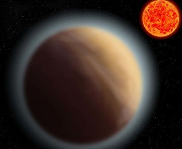 Artist's impression of planet GJ 1132b