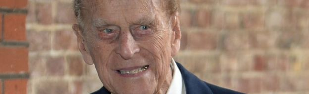 The Duke of Edinburgh at St James's Palace on 4 May