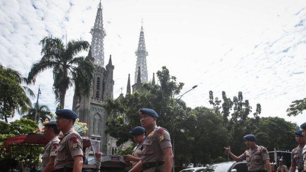 Natal dan tahun baru Jakarta