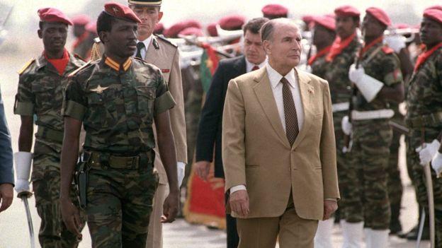 Son clash d'anthologie avec le président français de l'époque, François Mitterrand en visite au Burkina Faso, en dit long sur son point de vue sur la France et les pays occidentaux.