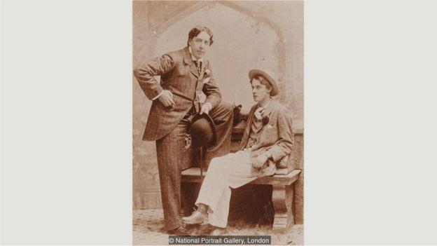 Oscar Wilde com Alfred 'Bosie' Douglas