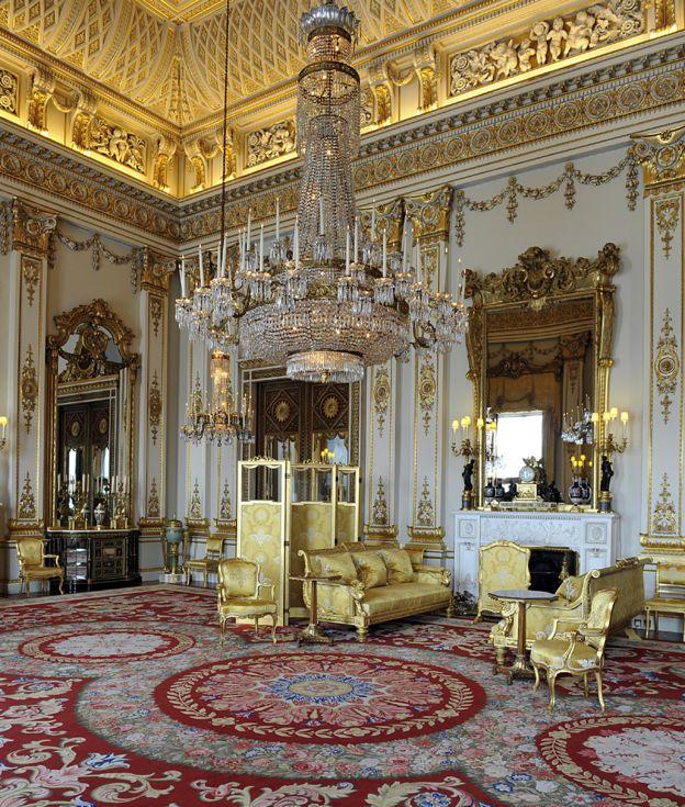... White Drawing Room, Buckingham Palace, 2011