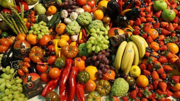 Фрукти та овочі
