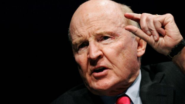 Jack Welch, el exjefe ejecutivo de General Electric