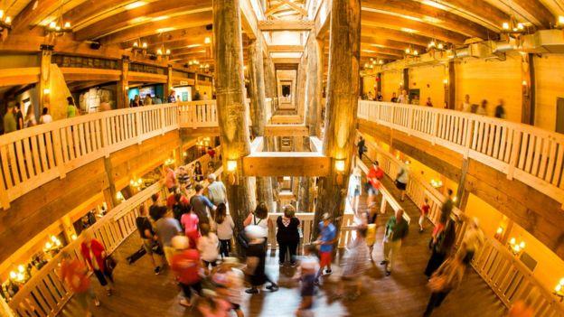 Interior da arca