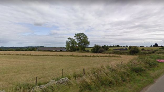 A Google image of Battledown Farm in Oakridge Lynch., Stroud