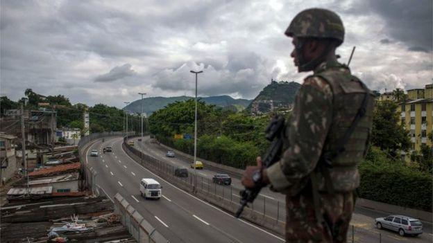 Soldado no Rio
