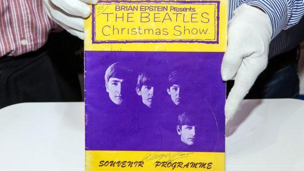 Beatles Christmas Show programme