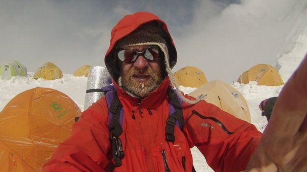 Ian Toothill reached the top of the North Col route on Mount Everest on 16 May