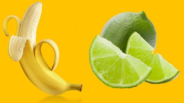 Banano y limón