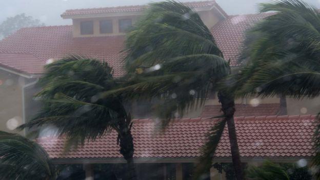 Bonita Springs, Florida, sacudida por el huracán Irma