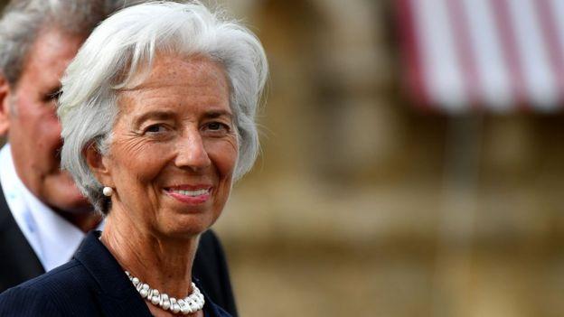 Christine Lagard, directora del FMI