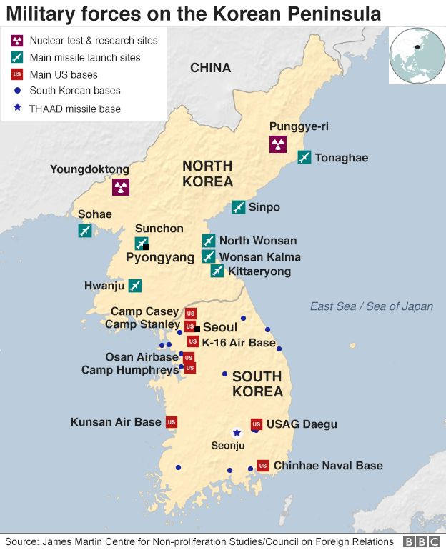 North Koreas missile and nuclear programme  BBC News