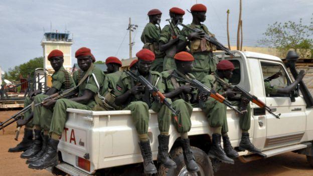 قوات في جنوب السودان