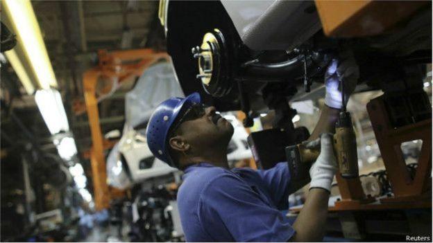 Trabalhador em automotiva